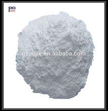 Liquid food package mastic in powder form