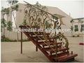 Elegante de alta- calidad baratos de hierro forjado de la escalera