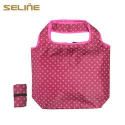 190T Eco friendly Nylon folded promotional bag