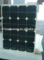50W HIGH EFFICIENCY American sunpower flexible solar panel solar power panel