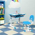 atractivo de metal de una sola escuela de escritorio y una silla c305 muebles