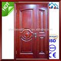 de alta calidad de madera de teca de la puerta doble de diseño
