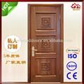 modernes de haute qualité en bois massif porte extérieure