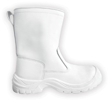 kitchen white safety shoe, white Safety boots LF128