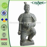 """23"""" Kneel Statue Xi'an Terracotta Warrior Soldier"""