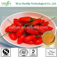 Natural goji berry extract, goji berry extract wolfberry extract, goji powder extract polysaccharides