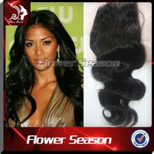 Best Fashion Hair Brazilian Virgin Hair Top Closure Body Wave Silk Base Top Closure