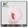 2014 chinese manufacturer United Arab Emirates Homtec 1.0L Cordless Electric Kettle plastic kettle plastic electric kettle