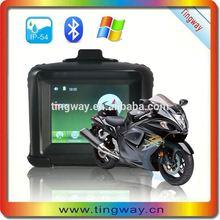China New Product Waterproof GPS Motorcycle Gps Navigation Fm Radio