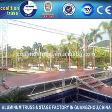 Factory sell outdoor show aluminum background truss, backdrop truss