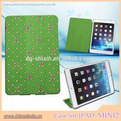 wholesale sublimation leather case for ipad mini case