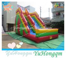 children park colorful large inflatable kids fun super slide for sale
