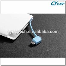 gift card polymer Lithium 2500mAh power bank