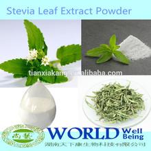 Factory High Quality Stevia Leaf Extract 95% Stevioside RA 98% Stevia Rebaudiana