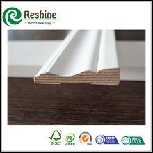 Decorative white primed pine/lvl wood moulding