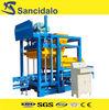 QT4-25 hydraulic concrete block machine, small mobile block machine, cement brick block machine price for construction
