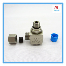 "Nantong Roke Parallel Thread Stainless Steel 1""NPS Elbow Pipe Fitting"