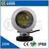 2014 New 12V/24V DC LED working light High quality COB 20W LED Work Light Spot Beam for Off Road Boat Truck