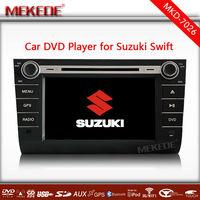8 inch suzuki swift car dvd gps navigation system with Free GPS Map GPS BT 1080P from Shenzhen
