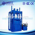 Hidráulica tb-150t tecido de resíduos de algodão máquina de reciclagem