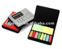 ST4001 pocket memopad solar calculator