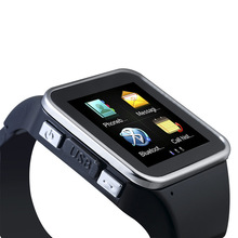 2014 Luxury Bluetooth Smart Watch Wrist Wrap Watch Phone for IOS Apple iphone 4/4S/5/5C/5S Android Samsung S3/S4/Note 2/Note 3