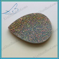 Natural Stone Pear Cut Wholesale Agate Druzy for Pendants