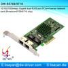 Fast ethernet Broadcom bcm5709 dual port RJ45 mini gigabit pci-e network adapter functions