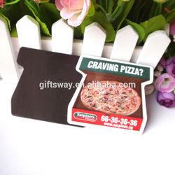 Factory price-good quanlity cheaper paper fridge magnet / paper magnet for decoration