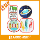 custom cute and lovely embroidery patch applique Iron-on kids backpack/clothing/apparel
