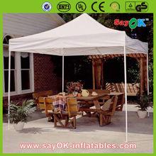 Red outdoor gazebo garden tent/ manual assembly gazebo tent 4x4 / cheap folding tent 2x2