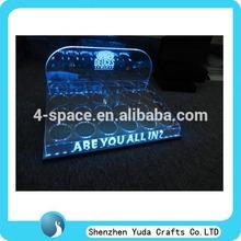 Led light window advertising light box acrylic display