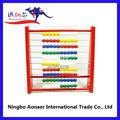 Componentes de madeira veados prateleira prateleira de cálculo, contagem de prateleira, wta6962 10 barras de madeira ábaco