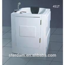 bathroom bathtub for old people and disabled acrylic small sitting bathtub