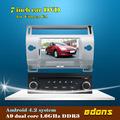 Android 4.2 dokunmatik ekran 1 din 7 inç araba dvd oynatıcı citroen c4 gps/wifi/3g/tv