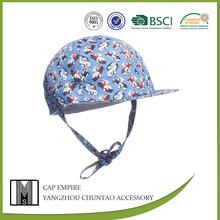 Comfortable printed 100 cotton baby cap bucket hat