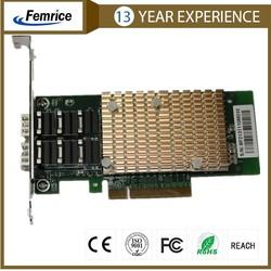 10 Gigabit Ethernet Dual Port Fiber Optical Server Adapter 10G2BF- SFP+ Network Card