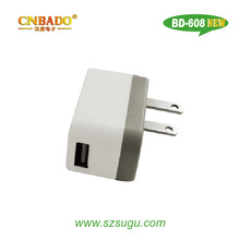 2014 smallest 2.1A portable cell phone charger for sam, smart phone,tablet pc...