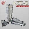 Screw locked hydraulic water quick coupling