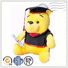 Customized plush toys manufacturer meet EN71 ASTM standard doctor bummy bear toy