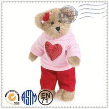 juguetes de peluche personalizados fabricante satisfacer en71 astm estándar suave pull and bear