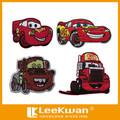 3d, hecho a mano, eco- ambiente cuentan con bordado de dibujos animados coche/camiones/camiones mack apliques parche