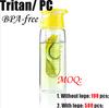 BPA free sport fruit infuser water bottle factory directly