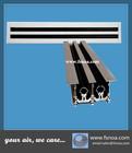 aluminum slot air diffuser grille for ventilation