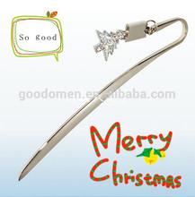 2014new metal custom bookmark