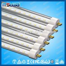 car park lighting 20W T8 LED Tube, 2400lm Lumen Flux, 1200mm Length