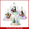 plastic snow globe wholesale/Hanging Snow dome
