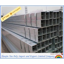 reasonable price bs1387 hot dipped galvanized steel square tube