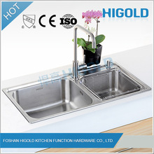 Double Bowl Kitchen Sink Customized Widely Used Undermount Double Bowl Sink,