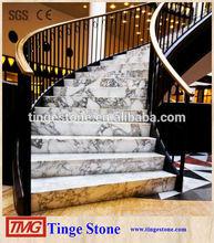 Nice indoor stone steps risers granite stairs